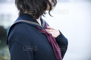 セーラー服の高校生の写真・画像素材[851377]