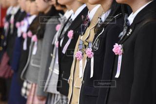 小学校の卒業式の写真・画像素材[1092249]