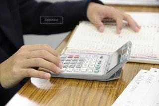 会計の勉強をする高校生の写真・画像素材[1603801]