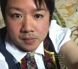 男の娘 カラオケ コスプレの写真・画像素材[693520]