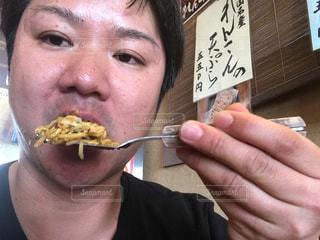 お好み焼き 肉玉そば 広島 オタクフソース ヘラの写真・画像素材[697601]