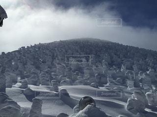 雪山の写真・画像素材[695405]