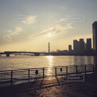 夕日の写真・画像素材[695898]