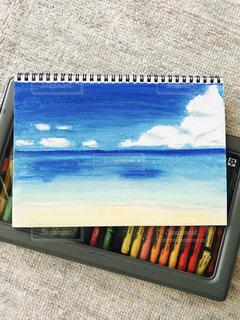 海の絵の写真・画像素材[1000894]