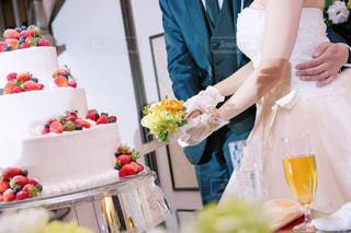 ウエディング ケーキの写真・画像素材[985672]