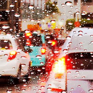 雨の日の道路 - No.729917