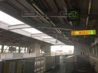 静かなモノレール駅 - No.744851