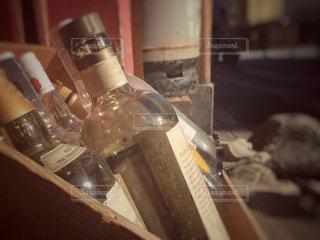 クローズ ボトルのアップの写真・画像素材[780456]