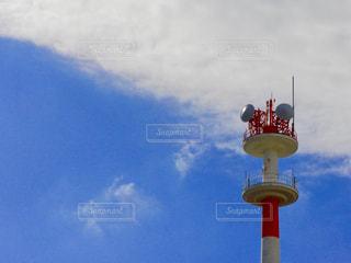 青い空と雲と極の写真・画像素材[914933]
