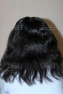くせっ毛の写真・画像素材[1125384]