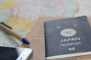 パスポートの写真・画像素材[1144495]