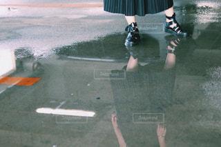 水にうつるの写真・画像素材[1427557]