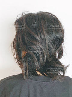クセ毛の写真・画像素材[2339354]