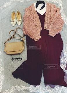 秋ファッションの写真・画像素材[3754233]