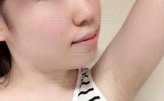 女性のアップの写真・画像素材[923864]