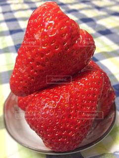 近くに赤い果実の - No.1014946