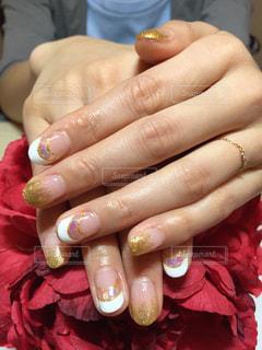 女性の指の写真・画像素材[736519]