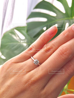 ダイヤのリングの写真・画像素材[736531]