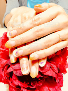 私の指の写真・画像素材[1201471]