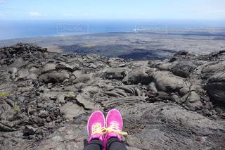 ハワイ島にての写真・画像素材[1203207]