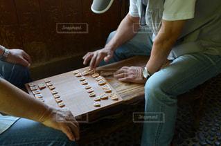 将棋を指すの写真・画像素材[1245759]