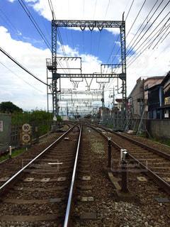 線路の写真・画像素材[1376289]