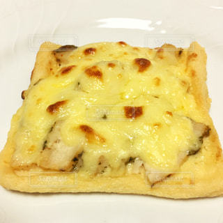 低糖質ダイエット!薄揚げのトーストピザの写真・画像素材[1520104]