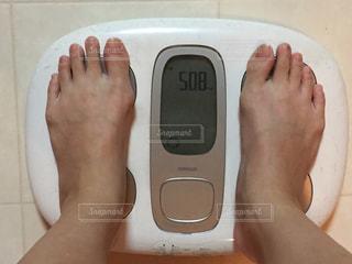 50.8キロ。なかなか痩せません。の写真・画像素材[1665546]