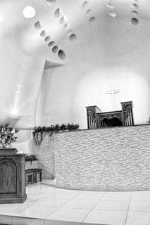 結婚式を行うチャペルの写真・画像素材[1680594]