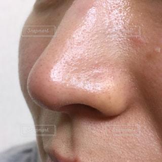 鼻の毛穴アップの写真・画像素材[2105310]