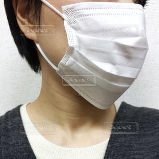 マスクをつけた女性の写真・画像素材[3053782]