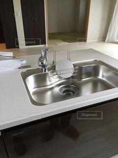 自宅の台所の写真・画像素材[3316029]