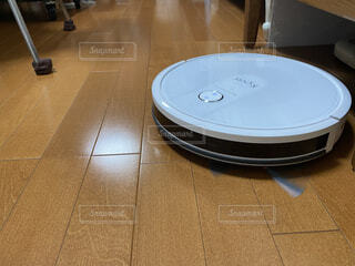 お掃除ロボットの写真・画像素材[4136169]