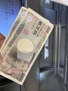 ATMで好きな時にお金を引き出せるの写真・画像素材[4599998]
