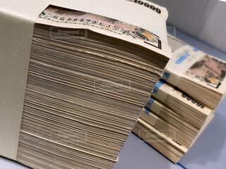 1500万円の札束の写真・画像素材[4771981]