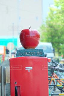 りんごポストの写真・画像素材[1580383]