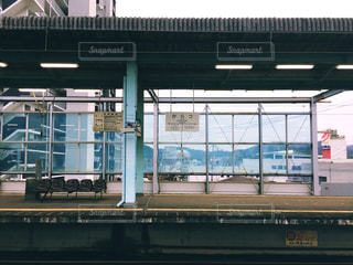 唐津駅のホームの写真・画像素材[1693417]