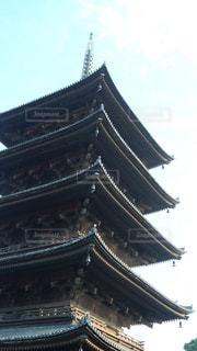 東寺の五重塔の写真・画像素材[1699483]