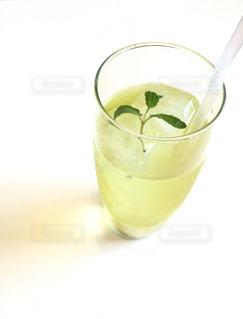 オレンジ ジュースのガラスの写真・画像素材[1848992]