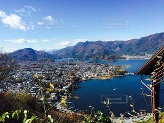 河口湖の写真・画像素材[3620961]