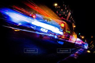 夜の街の写真・画像素材[1089695]