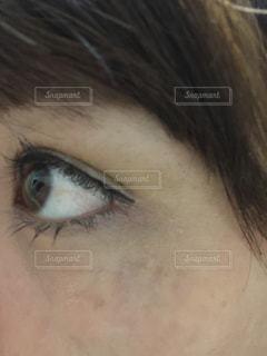目の老化の写真・画像素材[702596]