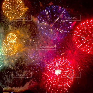 琵琶湖花火大会の写真・画像素材[701221]