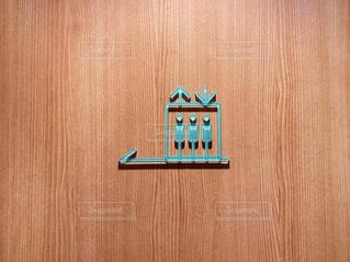 木製のドアの写真・画像素材[3118144]