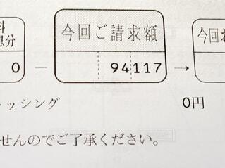 クレジットカードの請求書の写真・画像素材[4433176]