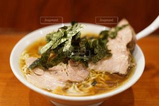 塊肉のチャーシュー麺の写真・画像素材[859380]