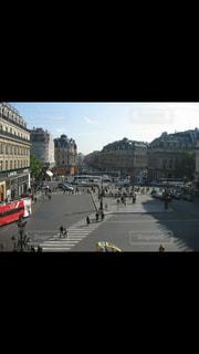 オペラ座からのパリの風景の写真・画像素材[748401]