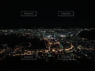 函館山夜景の写真・画像素材[19764]