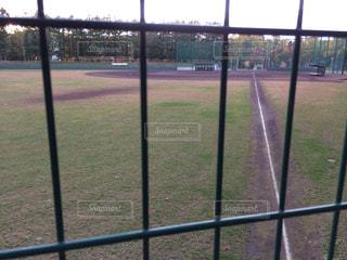 フェンスを表示の写真・画像素材[804437]