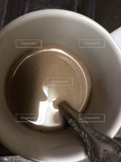 一杯のコーヒーの写真・画像素材[1627096]